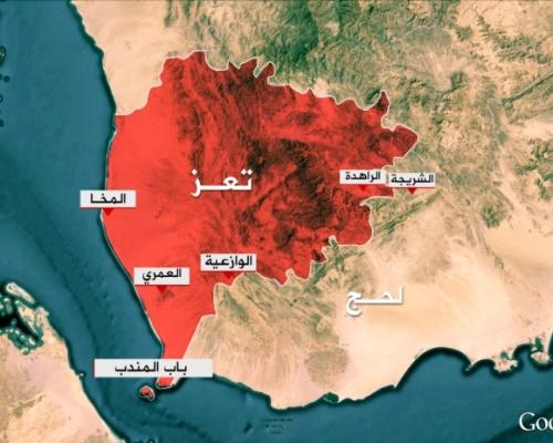 قوات العمالقة تسيطر على مركز مديرية موزع ومناطق من الوازعية