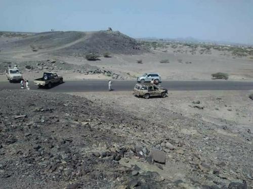 اللواء الثالث حزم يسيطر على مواقع الحـوثيين بكهبوب