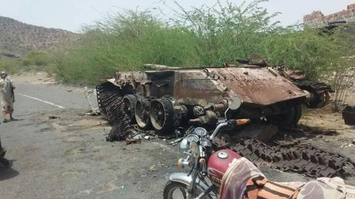 بإسناد من القوات الإماراتية.. المقاومة تحرر مديرية الوازعية بالكامل (صور )