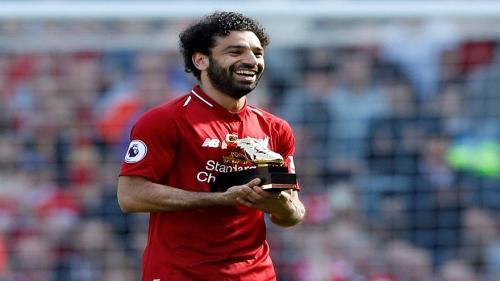 محمد صلاح يكسر الرقم القياسي لهدافي الدوري الإنجليزي