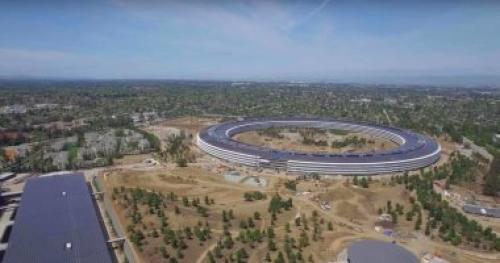 فيديو جديد يستعرض أماكن ركن السيارات داخل مقر أبل العملاق