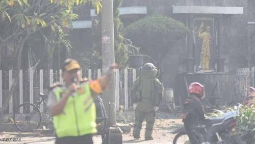 غداة هجمات الكنائس.. انفجار في مبنى للشرطة بإندونيسيا