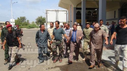 نائب مدير أمن العاصمة يعود الى عدن بعد رحلة علاجية تكللت بالنجاح ( صور)