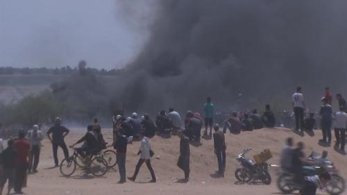 مجزرة إسرائيلية.. 55 قتيلاً وآلاف الجرحى في غزة