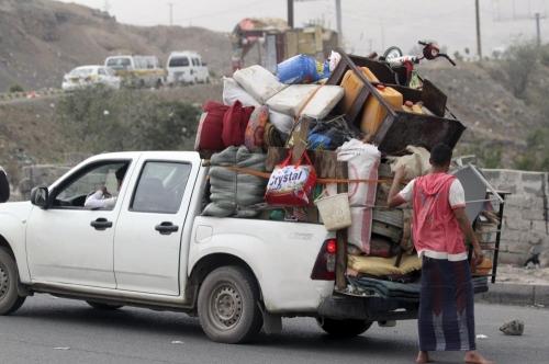الأمم المتحدة: نزوح أكثر من 15 ألف أسرة  من مناطق غرب اليمن إلى الجنوب