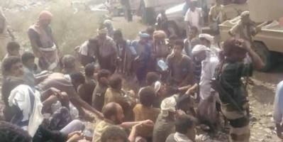 25 حوثيا يسلمون أنفسهم للقوات الحكومية غرب تعز