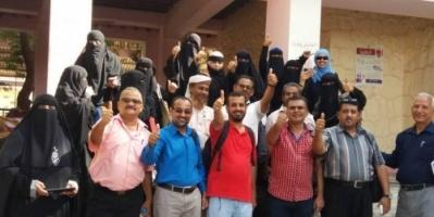 معلمون في عدن يختتمون تدريب في السلام والحوار، ويشهرون مبادرات لمعالجة قضايا مجتمعية