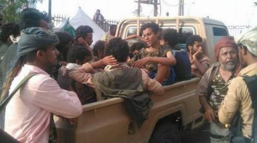 مئات القتلى والجرحى من مسلحي الحوثي فى جبهات الساحل الغربي نتيجة المواجهات المستمرة