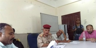 المكتب التنفيذي بالضالع يعقد اجتماعه للدورة الاعتيادية الرابعة 2018م