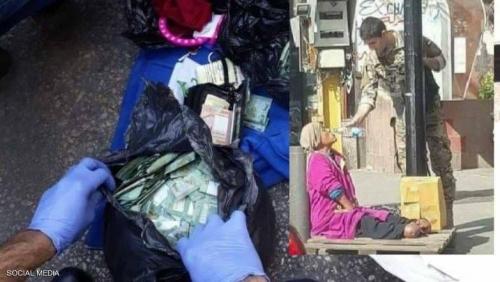 """وفاة """"متسولة"""" لبنانية تكشف حساب المليون دولار"""