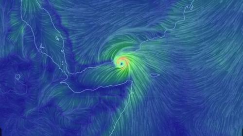 الارصاد : اعصار مداري قادم بقوة وستتأثر به 5 محافظات