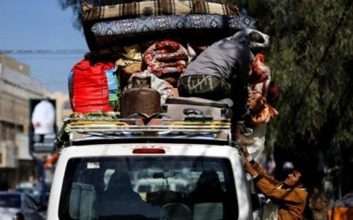 العفو الدولية: عشرات الآلاف من المواطنين يفرون من الحديدة