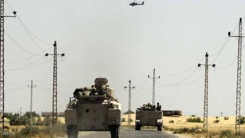 مصر تعلن حصيلة جديدة لقتلى الإرهابيين في سيناء