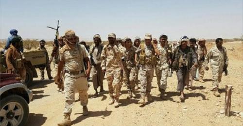 الجيش الوطني ينتزع مواقع عسكرية من المليشيا في الجوف