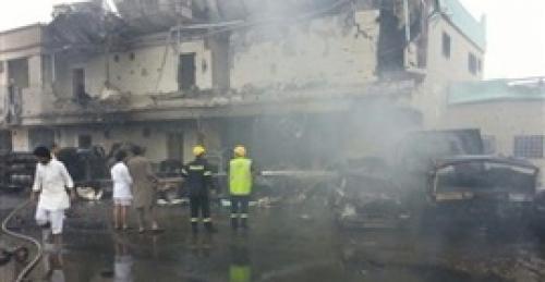 استشهاد مدني بسقوط قذيفة حوثية في الضالع