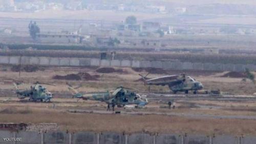 مصادر: قصف منظومة صواريخ إيرانية في مطار حماة العسكري