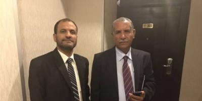 مدير أمن عدن يعزي بوفاة المناضل اللواء احمد علي الحدي قائد الشرطة العسكرية