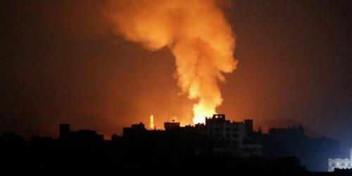 التحالف العربي يجدد غاراته الجوية على مواقع مليشيات الحوثي  بصعدة وضواحي صنعاء