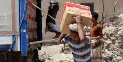 كشف عمليات نهب حوثية منظمة للمساعدات الإنسانية