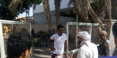 مدير عام  الشيخ عثمان  يتفقد المضخة العامة للمجاري  بالممدارة