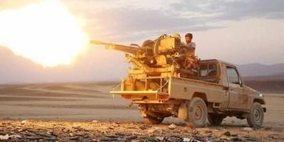 قتلى حوثيون في جبهة باقم.. والتحالف يضرب تجمعاتهم