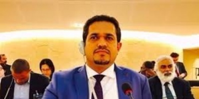وزير حقوق الانسان ٳحتجاز مليشيات الحوثي للمساعدات الانسانية ٳنتهاك للقانون الدولي الانساني .