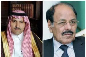 السفير السعودي باليمن يكشف التفاصيل الكاملة لخروج علي محسن الاحمر من صنعاء (فيديو)