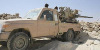 الجيش الوطني يصد هجوماً لميليشيات الحوثي في نقيل الصلو جنوب شرقي تعز