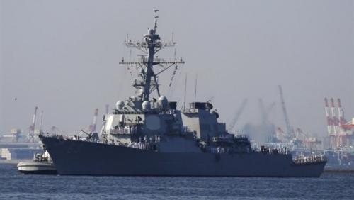 البحرية الأمريكية ترسل أكبر المدمرات الصاروخية لتأمين قمة ترامب وكيم