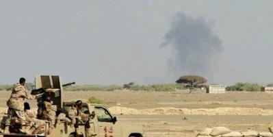 عتاد كامل للمليشيات الحوثية يقع في قبضة الجيش والمقاومة في جبهة كهبوب بلحج
