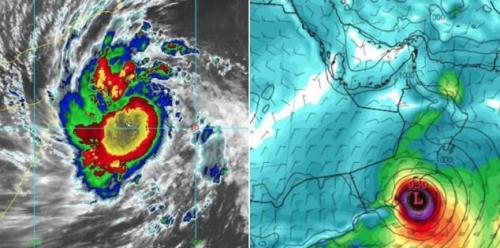 وكالة امريكية .. إعصار بحر العرب يضرب عُمان واليمن السبت