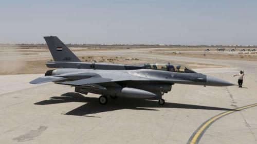 """القوات العراقية تدمر موقعا لقيادة """"داعش"""" في سوريا"""