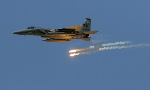 ضربات جوية مكثفة تستهدف مواقع المليشيا في صعدة