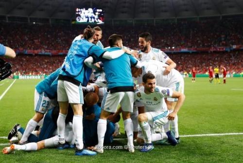 عاجل.. بالصور: ريال مدريد يحتفظ بعرشه وليفربول يسير وحيدا بعد إصابة صلاح