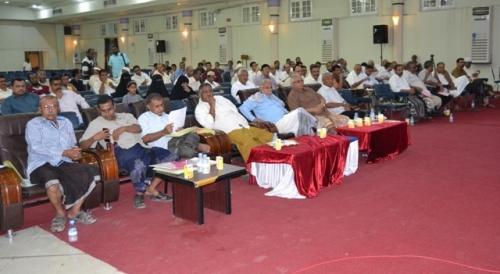 نقابة أعضاء هيئة التدريس ومساعديهم بجامعة حضرموت تعقد اجتماع الجمعية العمومية
