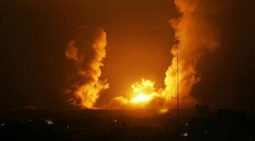 غارات إسرائيلية على مواقع لحماس في غزة