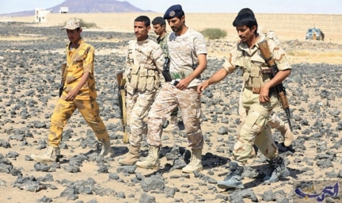 """الجيش يحرر قرية """"الحجر"""" ومواقع مجاورة غرب تعز ويصد هجوماً شرق المدينة"""