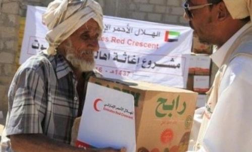 الهلال الأحمر الإماراتي يكثف جهوده وبرامجه الرمضانية في حضرموت