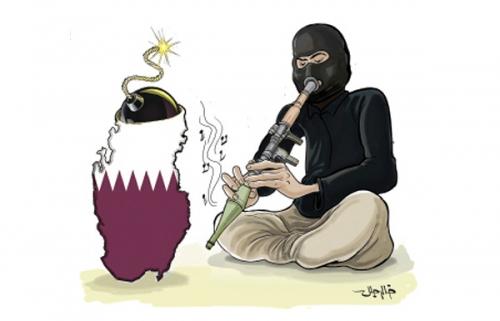 المعارضة القطرية تتهم تميم بإخلاء الأسواق للبضائع الإيرانية والتركية الفاسدة