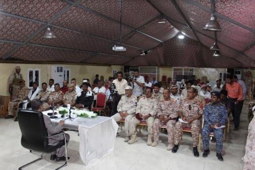 محافظ حضرموت يرأس اجتماعاً استثنائياً للمكتب التنفيذي واللجنة الأمنية والعسكرية بالمحافظة بحضور مراسلي وسائل الاعلام المختلفة