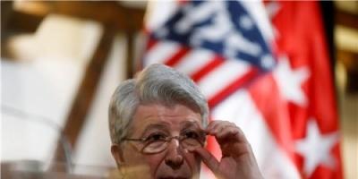 رئيس أتلتيكو مدريد يرد على راموس