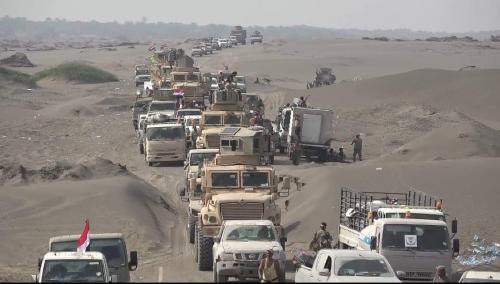 الحديدة على وشك طي صفحة الإنقلاب .. تعزيزات جديدة و ( 6 ) كيلو مترات  تفصل القوات المشتركة عن المطار