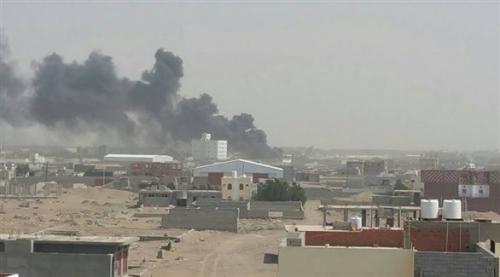 عاجل: مقاتلات التحالف تستهدف اجتماعا سريا لقيادات حوثية بارزة بالحديدة