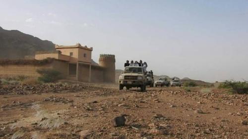 شاهد أسراً تعود لمنازلها بالفرع معقل الحوثي بعد تحريرها