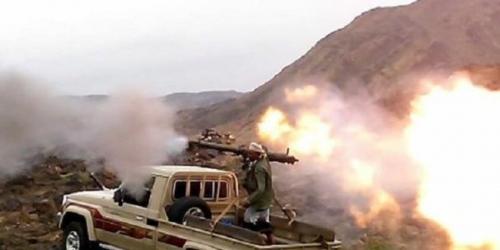مصرع 5 من عناصر مليشيا الحوثي واصابة واسر اخرين بالبيضاء