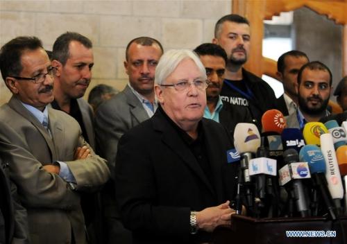 المبعوث الأممي مارتن غريفيث يصل صنعاء للمرة الثانية للقاء قادة ميليشيا الحوثي