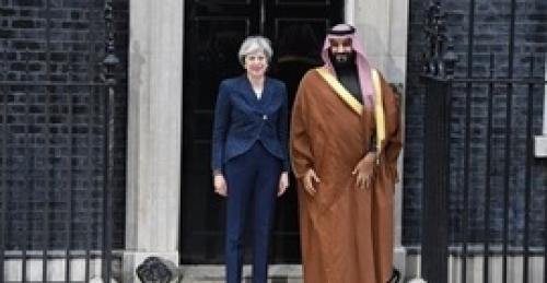 رئيسة وزراء بريطانيا وولي العهد السعودي يؤكدان أهمية استقرار سوق النفط
