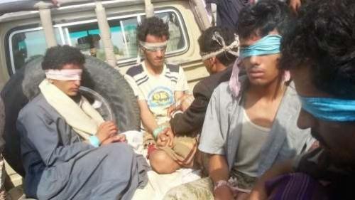 مجاميع حوثية تسلم نفسها للجيش والمقاومة في البيضاء