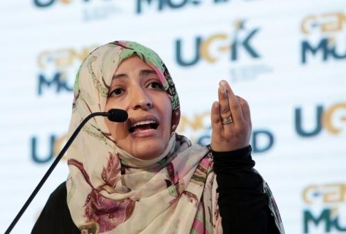 توكل تهاتف محمد عبد السلام لطرح مبادرة شراكة معلنة ضد التحالف العربي