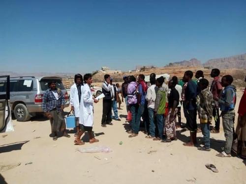 إجلاء عشرات الإثيوبيين من الحديدة